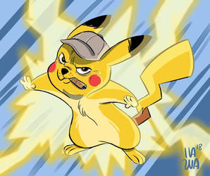 Detective Pikachu by Ms-Starskitty