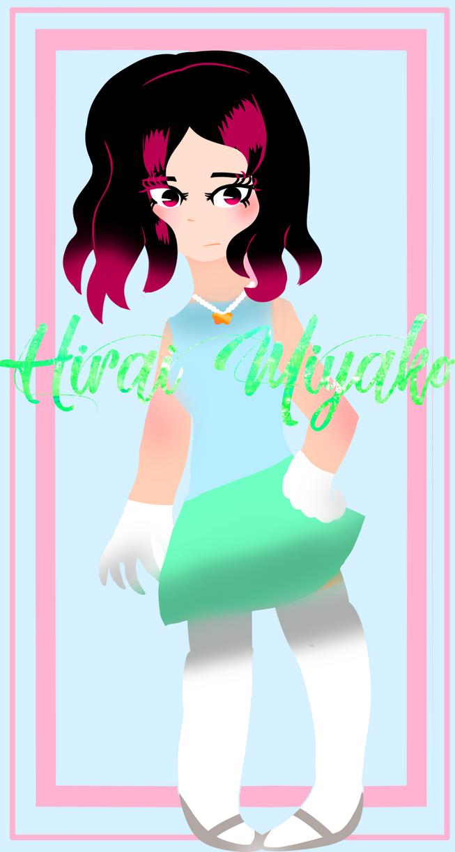 Hirai Miyako by Artycat19