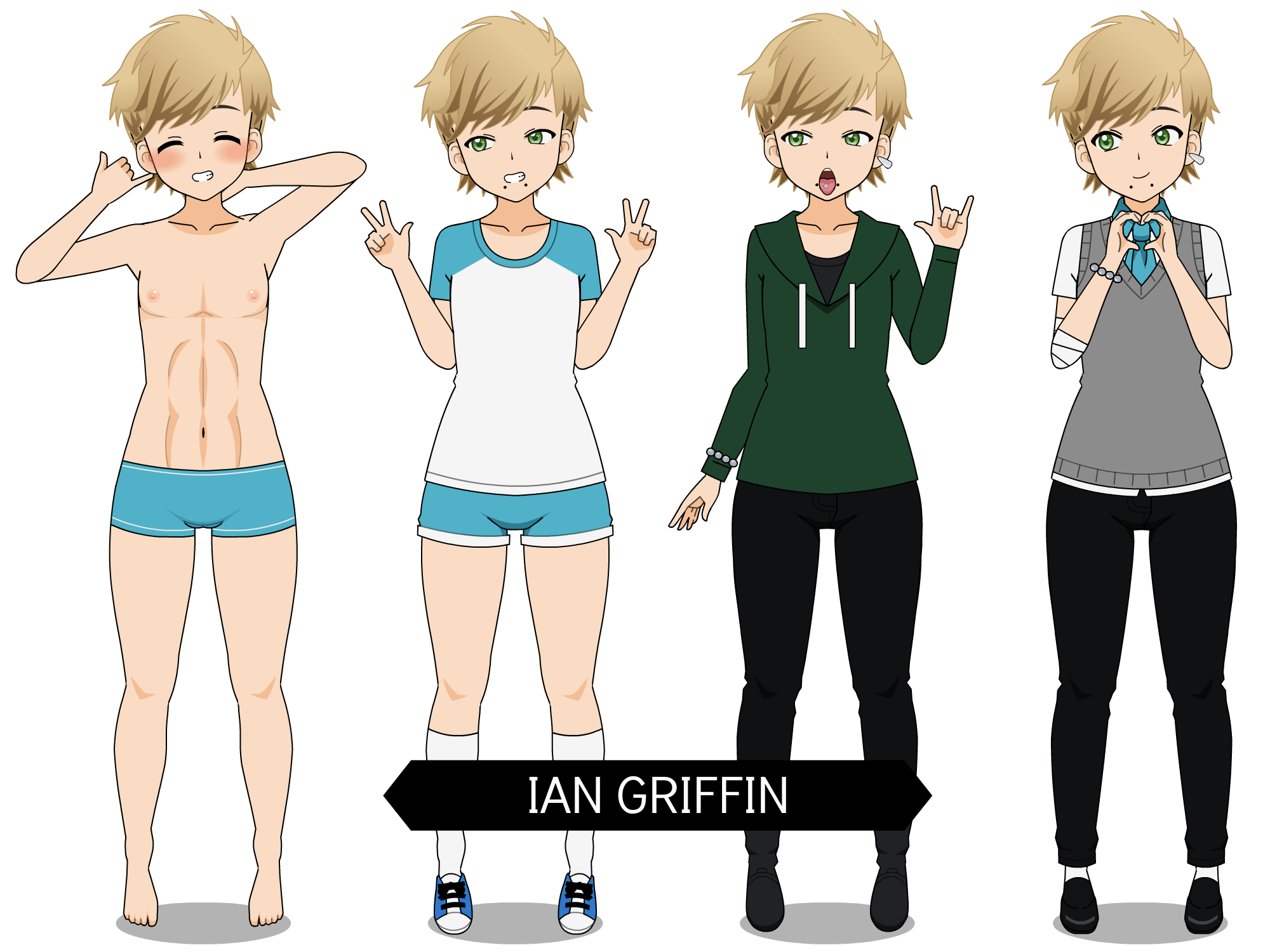 Ian Griffin Kisekae High School By Queen Mari On