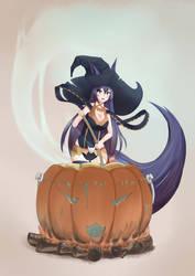 Halloween Pumpkin Soup by aragorl