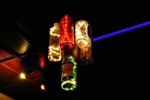 Lighted Bottles 0001 by poeticthnkr