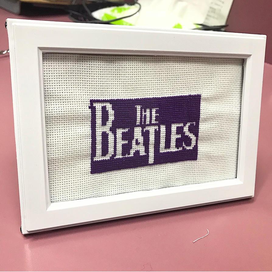 Beatles Crossstitch 4x6 By Runningtohogwarts On Deviantart