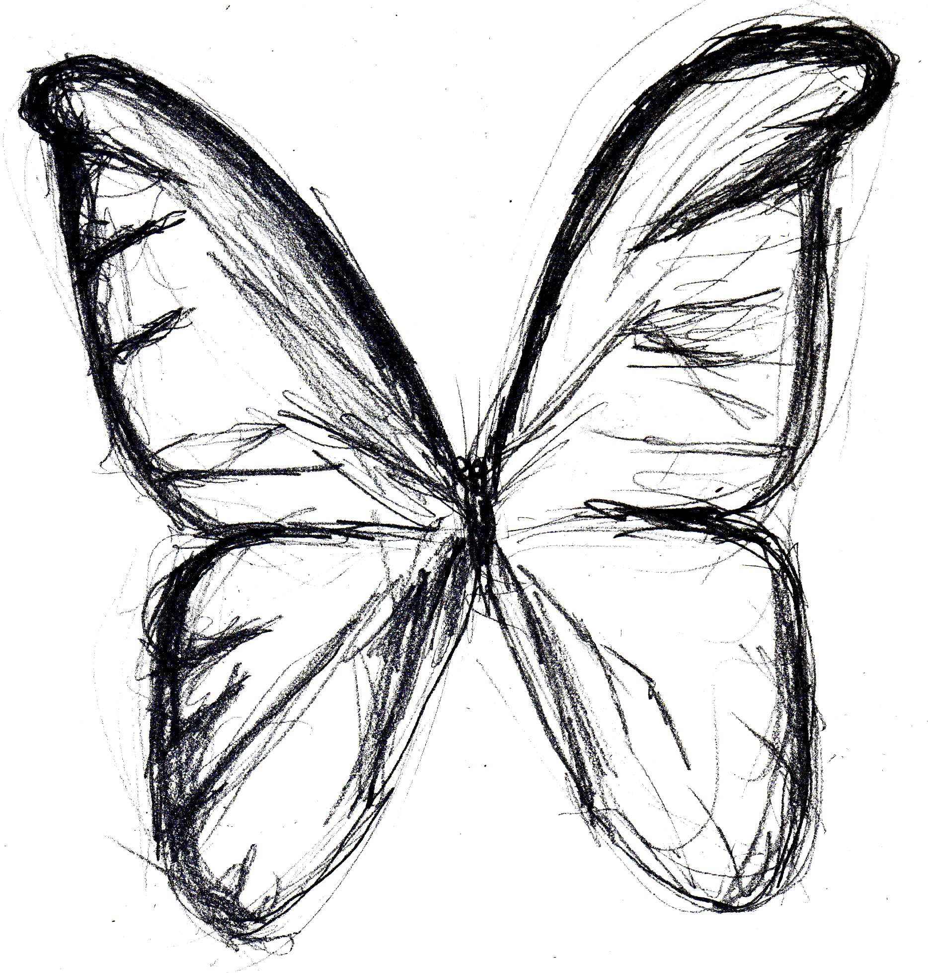sketches on pinterest drawing challenge butterfly