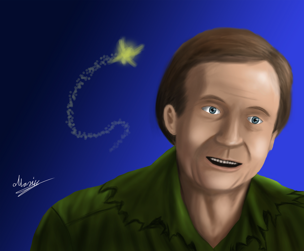 Goodbye Robin Williams by eMokid64