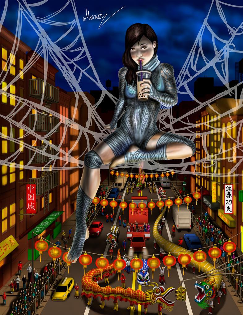 Silk above Chinatown by eMokid64