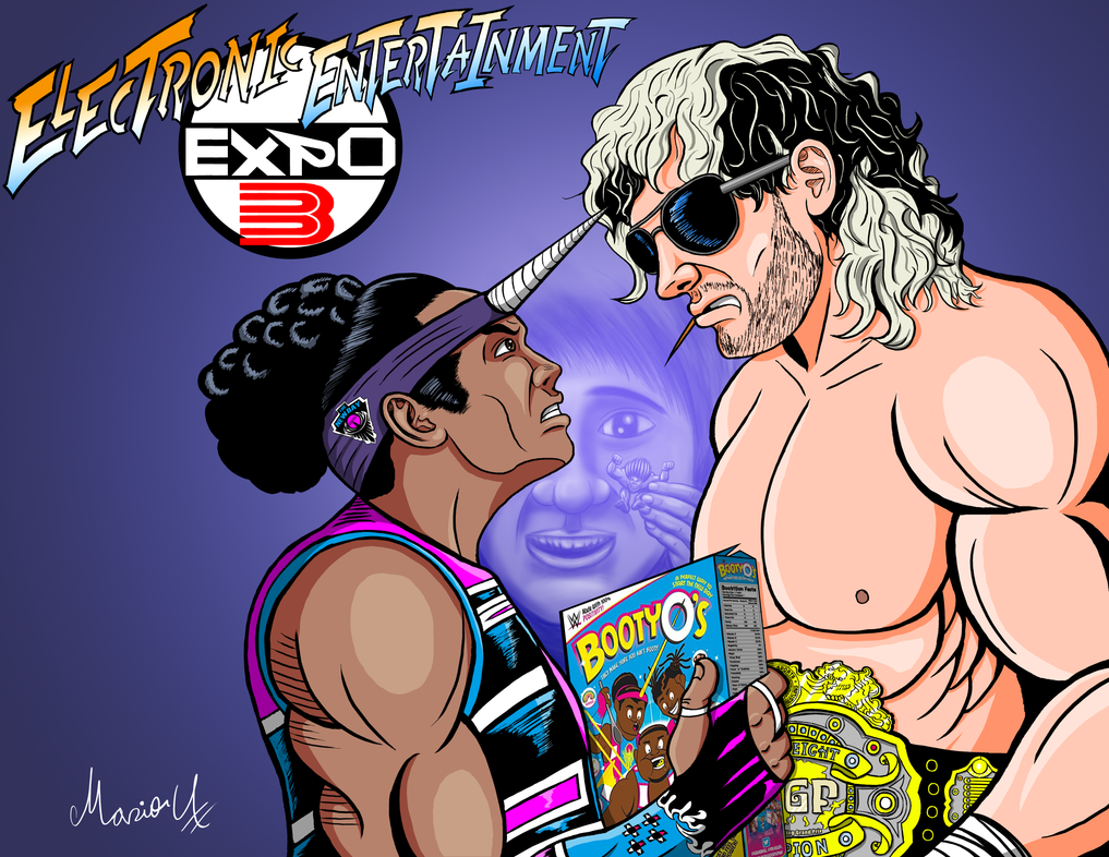 Xavier Woods vs Kenny Omega Alpha tribute by MarioUComics