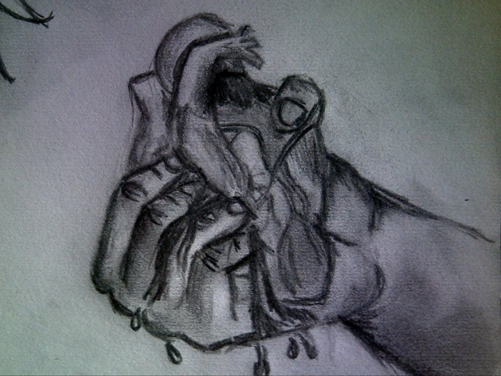 Hand crushing the heart by Tattoo-Madd on DeviantArt
