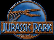 rusty jurassic park aqua logo by OniPunisher