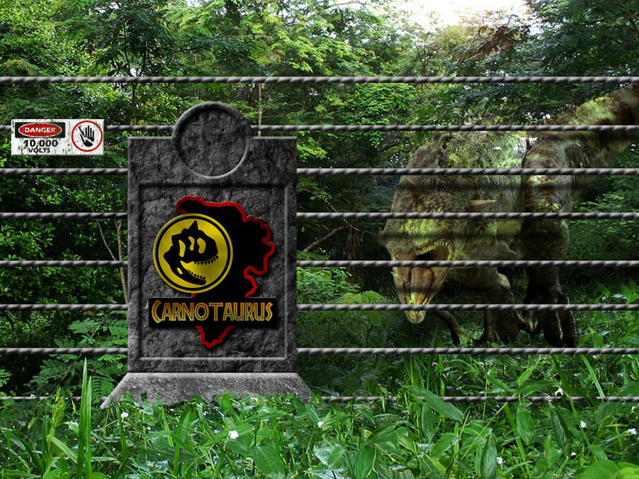 Jurassic Park Carnotaurus Pen3 by OniPunisher