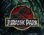 rocky jurassic park logo wallpaper classic colors