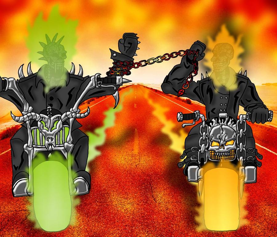 taokaka vs ghost rider - photo #7
