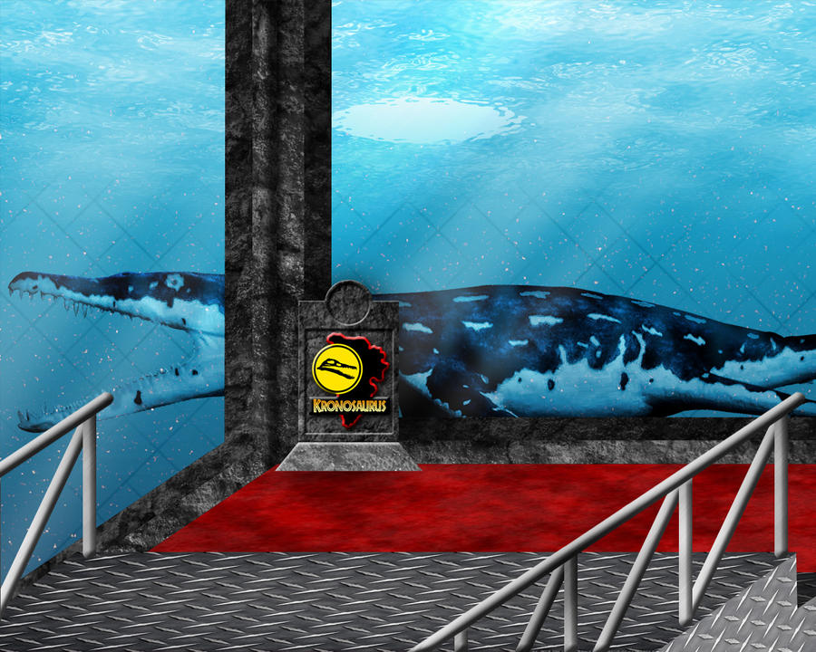 Jurassic Park Kronsaurus Tank by OniPunisher