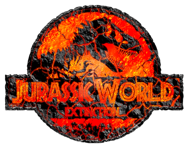Jurassic World Extinction logo by OniPunisher on DeviantArt