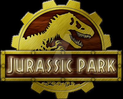 Logo Jurassic Park Steampunk by OniPunisher