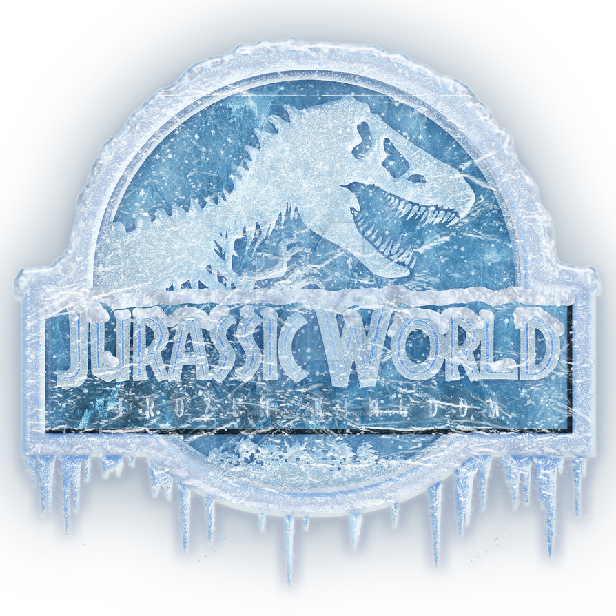 Jurassic World Frozen Kingdom logo by OniPunisher