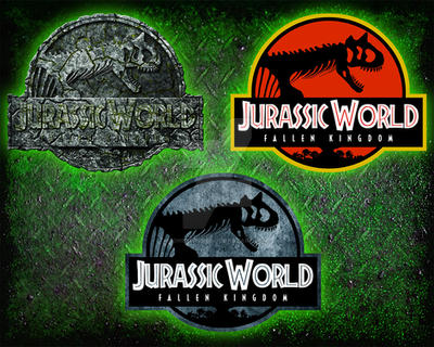 Jurassic World Fallen Kingdom Carnotaurus logo by OniPunisher