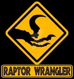 Raptors wrangler unit patch