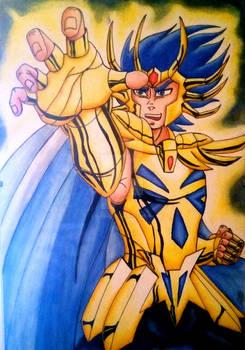 Cancer gold saint Deathmask