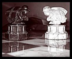 Pawn's fight