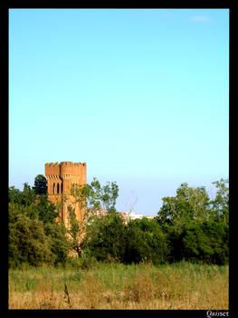 Vista de la torre de Can Feu