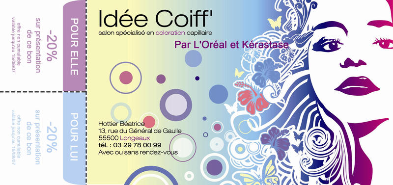 Flyer Salon De Coiffure By Dioude On Deviantart