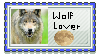 Wolf Lover Stamp^^ by Ookamis-Wolves