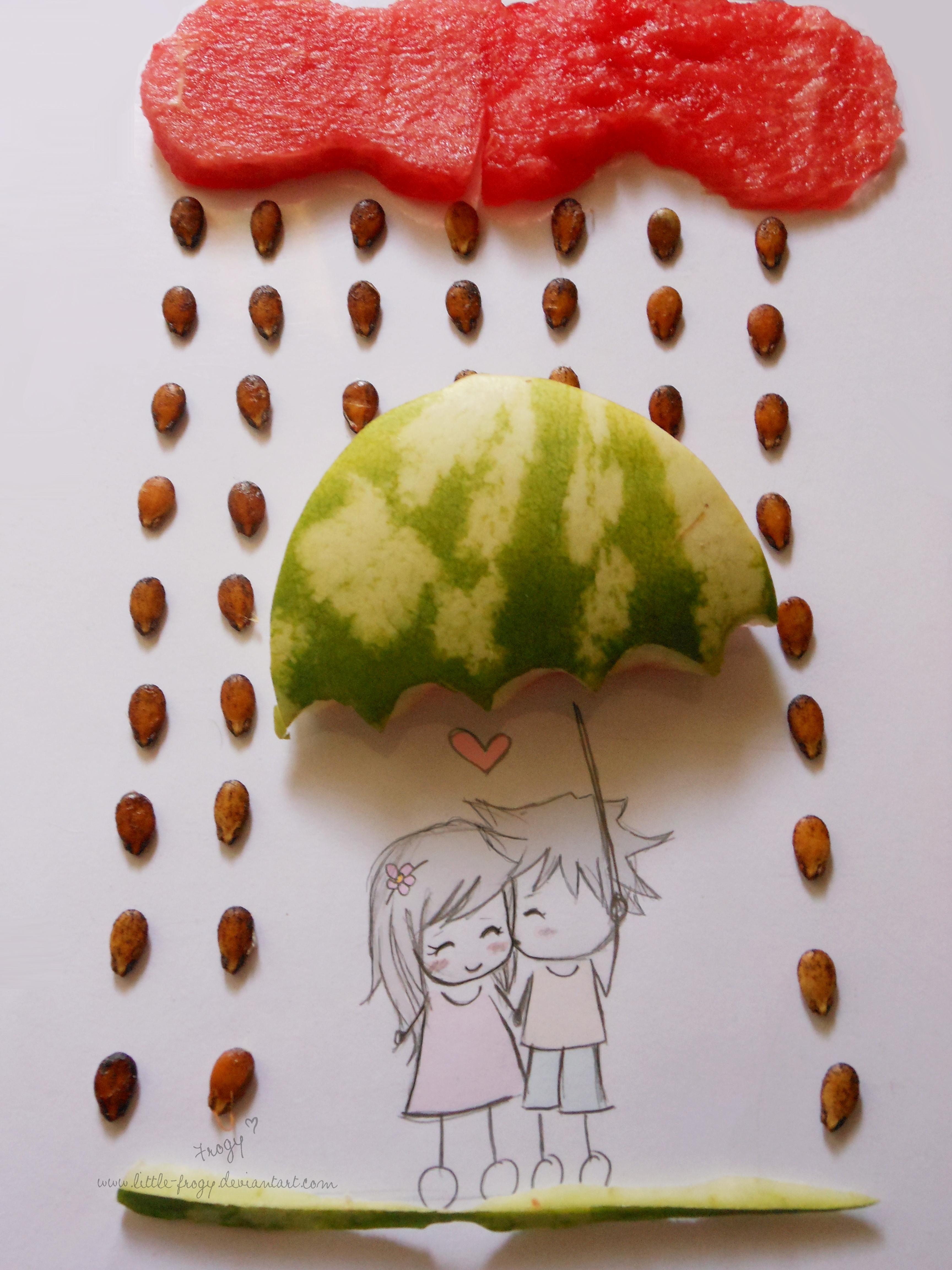 Sweet love by little-frogy
