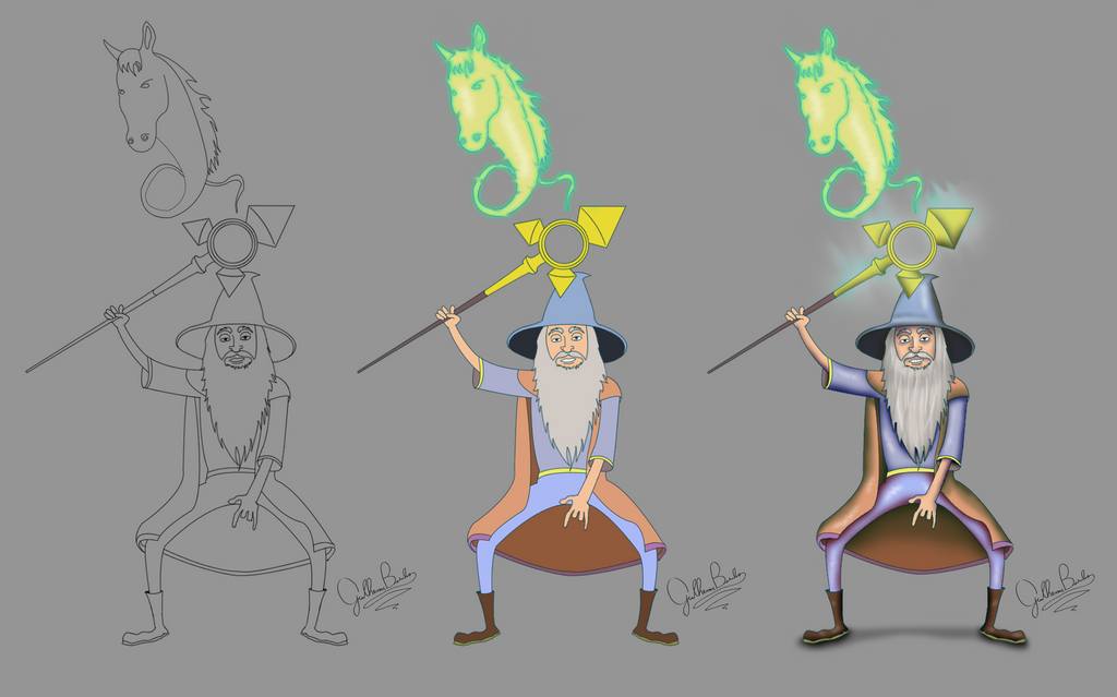 step by step keeper of the light dota 2 by guilhermebasilio on