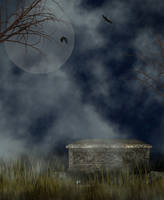 Halloween or Goth Background by Junk-stock