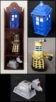 Dr. Who Miniature Set