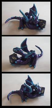 Purple Dice Dragon