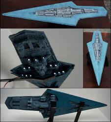 Executor-Class Imperial Star Dreadnaught by Cyle