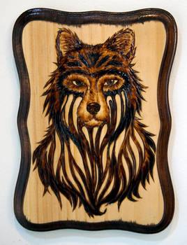 Burned Wolf