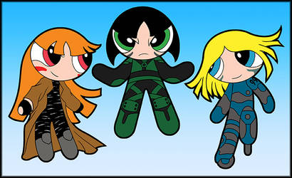 Battle Angel Powerpuff Girls