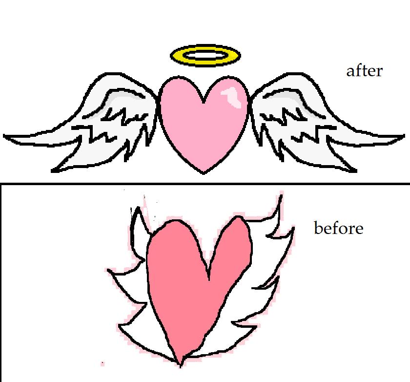 chibi angel wings - photo #6
