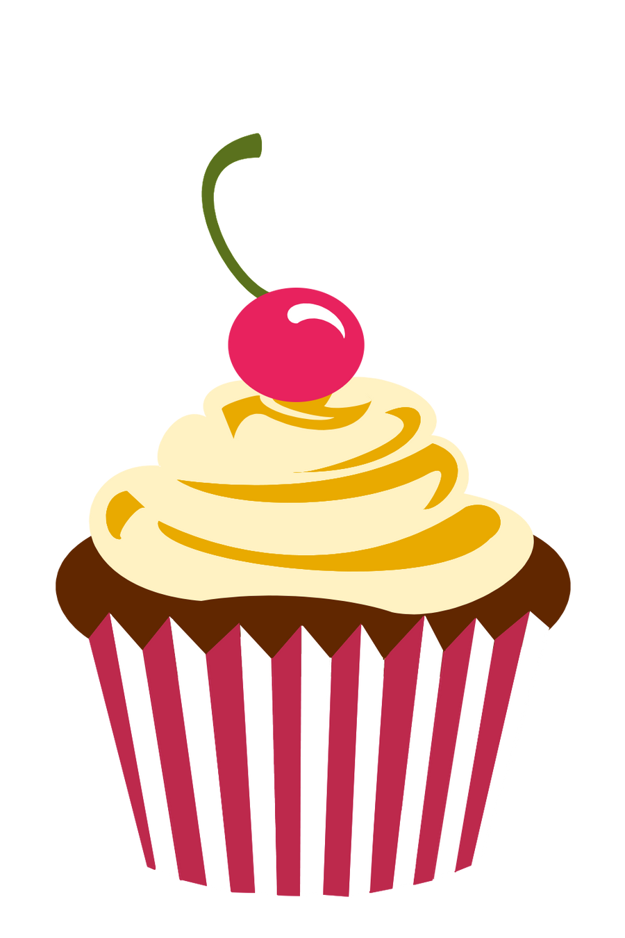 Cherry Chocolate Cupcake by F-A on DeviantArt
