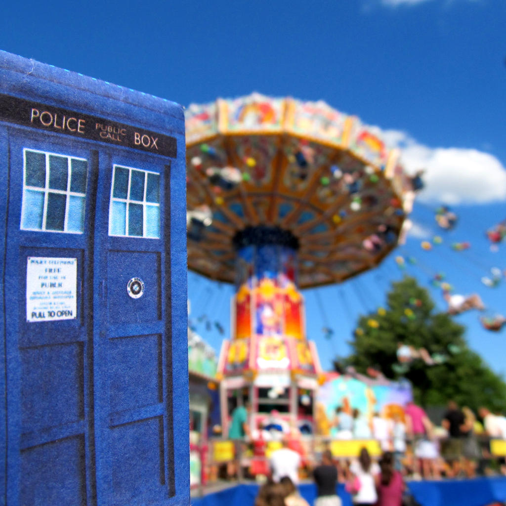 Tardis on Libori in Paderborn by F-A