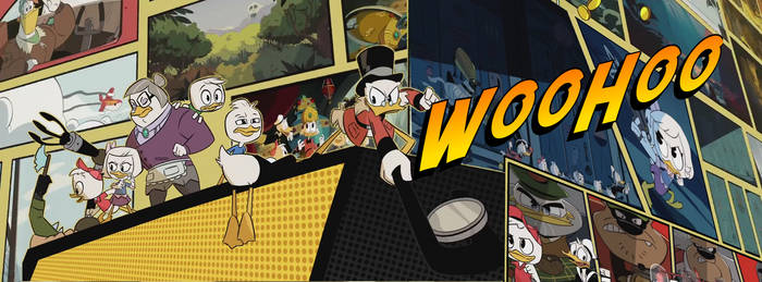 DuckTales Intro Collage