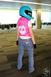 Biker Hotline Miami cosplay