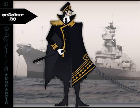 CDC oct: Day 20th - Navy battleship commander