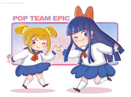 Pop Team Epic by iCassiekinz