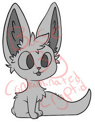 Fennec Fox Blep P2U Base 50 points