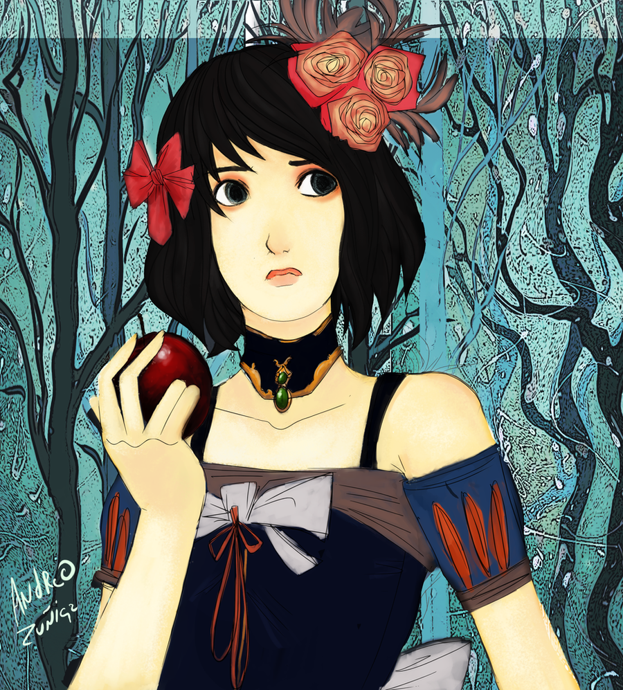 Snow White by AndrewLaFish-Arts