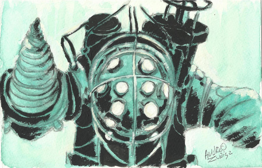 Bioshock Fan art by AndrewLaFish-Arts