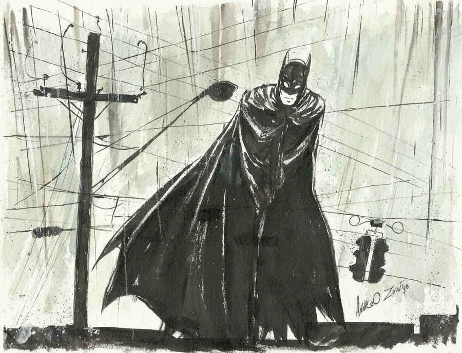 Batman by AndrewLaFish-Arts