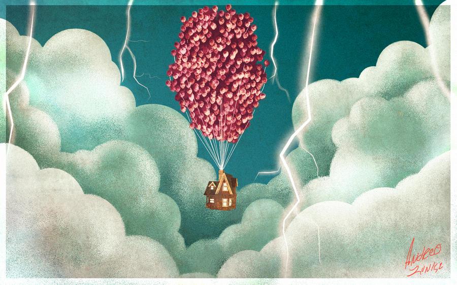 Pixar's Up by AndrewLaFish-Arts