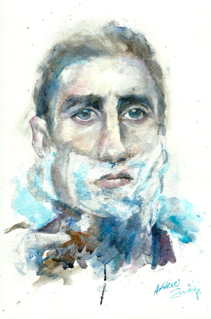 Richie Tenenbaum Watercolor By AndrewLaFish-Arts On DeviantArt