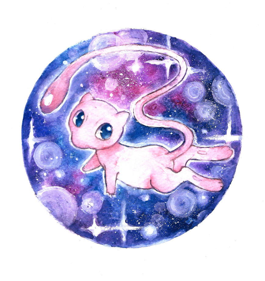 Mew the great and powerful by AndrewLaFish-Arts