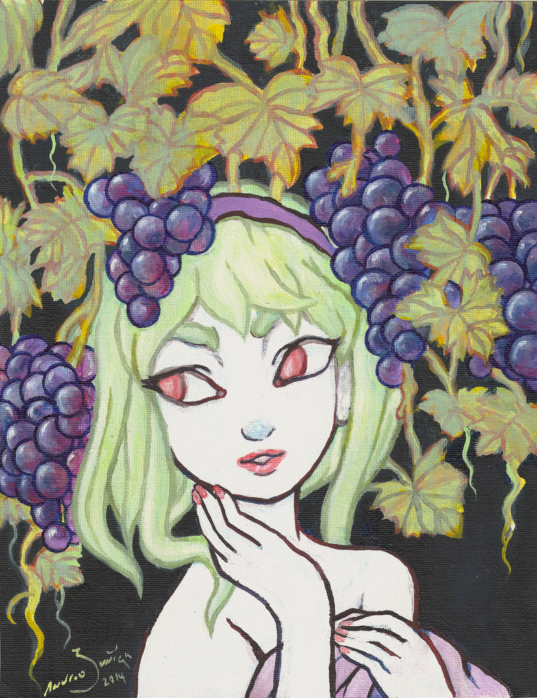 Grape Vines by AndrewLaFish-Arts