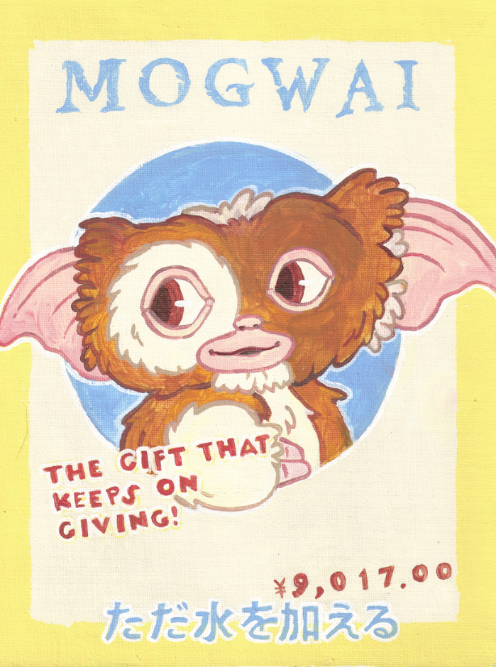 Mogwai by AndrewLaFish-Arts